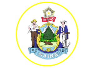 maine state seal for Maine Extends Remote Notarization Provisions Until Early 2023 blog post